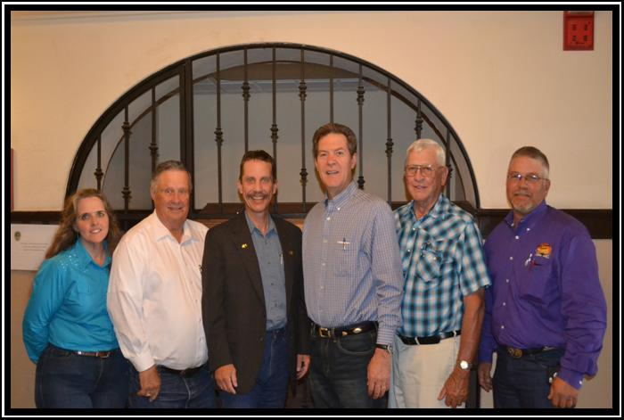 KNRC Steering Committee Meets with Governor Sam Brownback